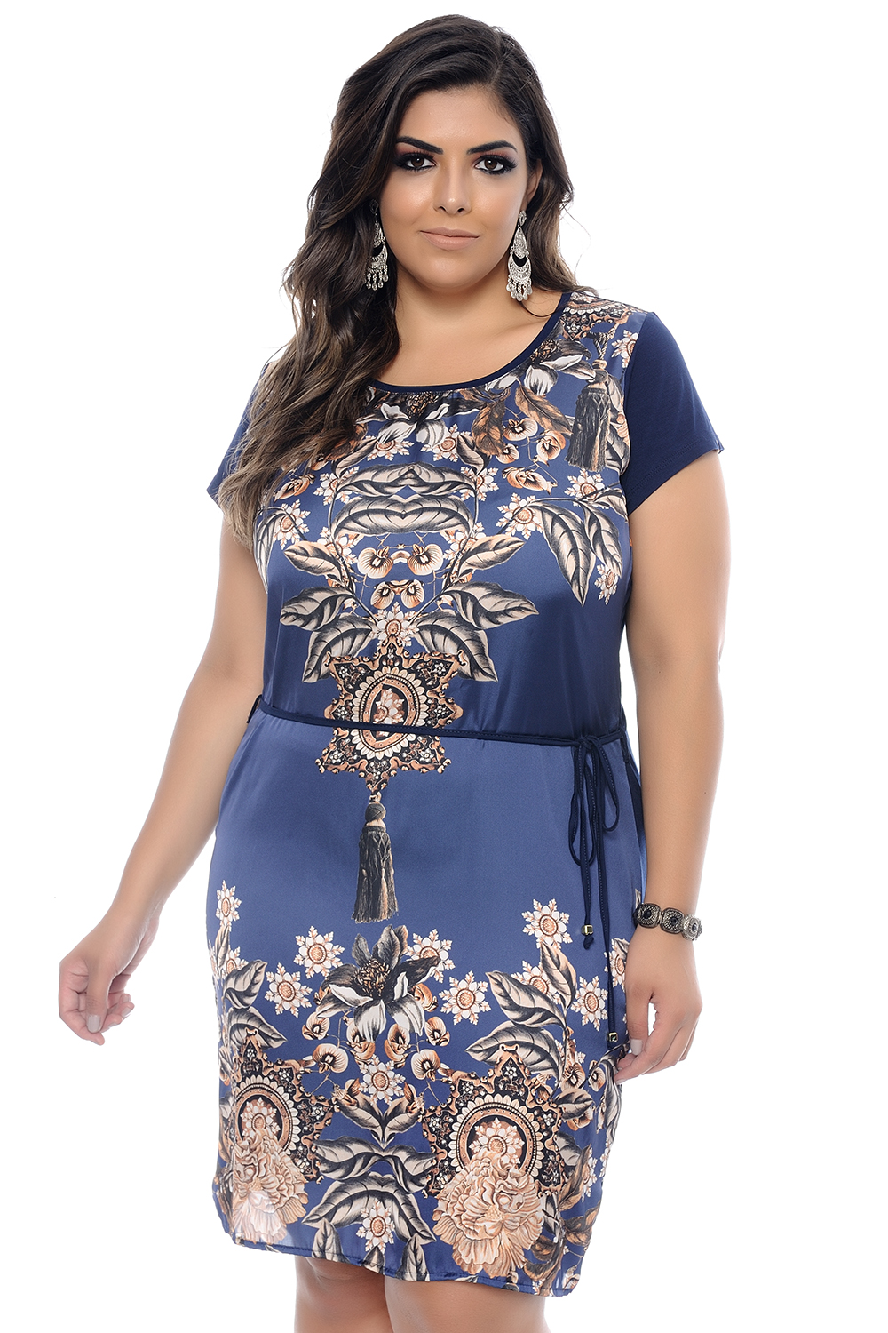 vestido plus size ideal