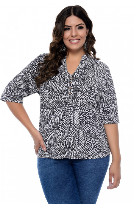 Blusa Plus Size Caleidoscopic