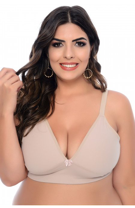 Sutiã Plus Size Sem Bojo Shape Chocolate